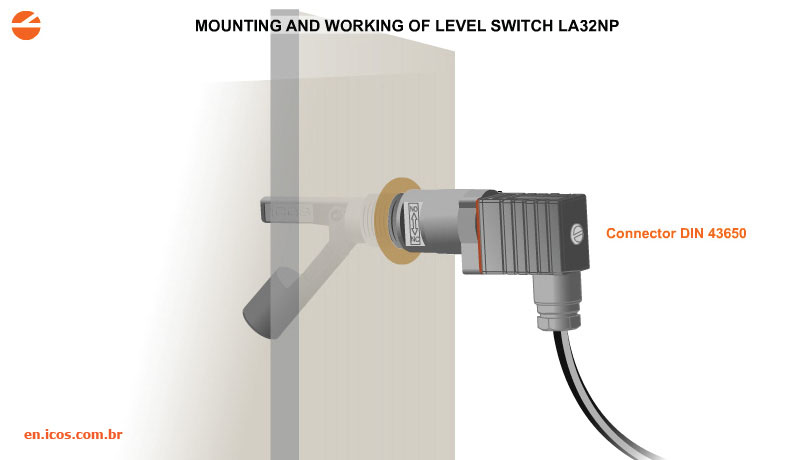 Level Switch with DIN 43650 Output Connection